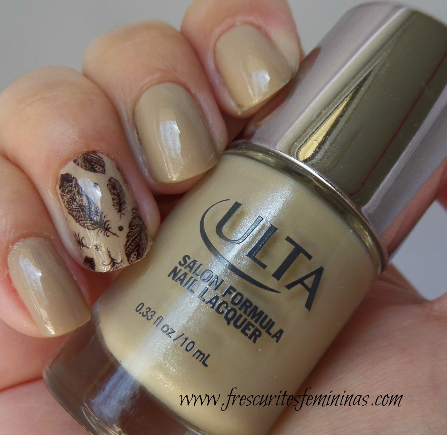 Ulta, Ulta Nail Polish, on taupe of the world, frescurites femininas, esmalte nude, pelicula de unha, esmalte bonito