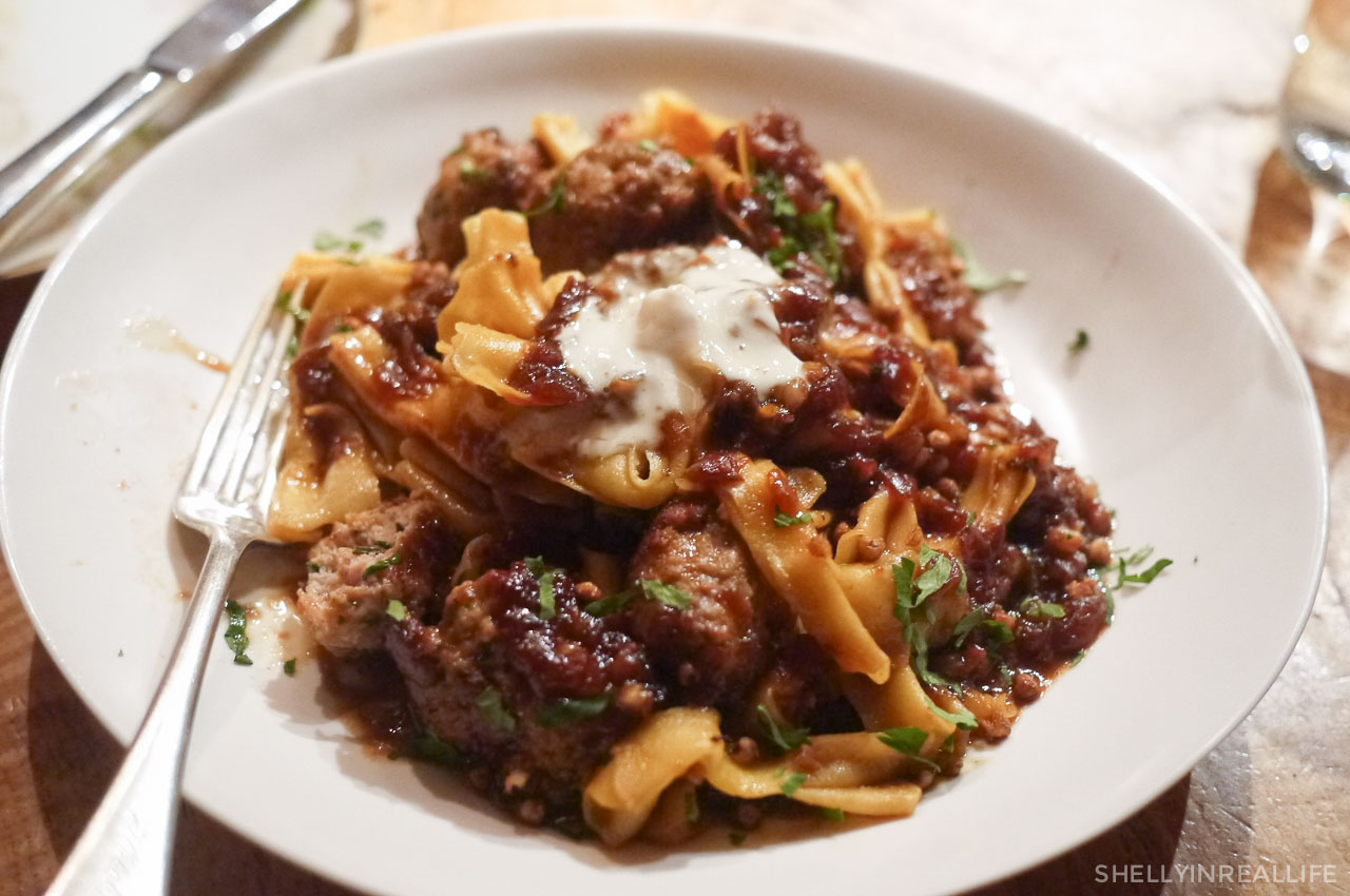 Kasha And Bowtie Pasta, Veal Meatballs : J Didnu0027t Love The Sweetness Of The  Caramelized Onions In The Sauce, But I Personally Enjoyed The Texture Of  The ...