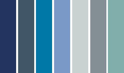 Distintos tonos de azul para pintar tu casa blog totpint - Colores azules para paredes ...