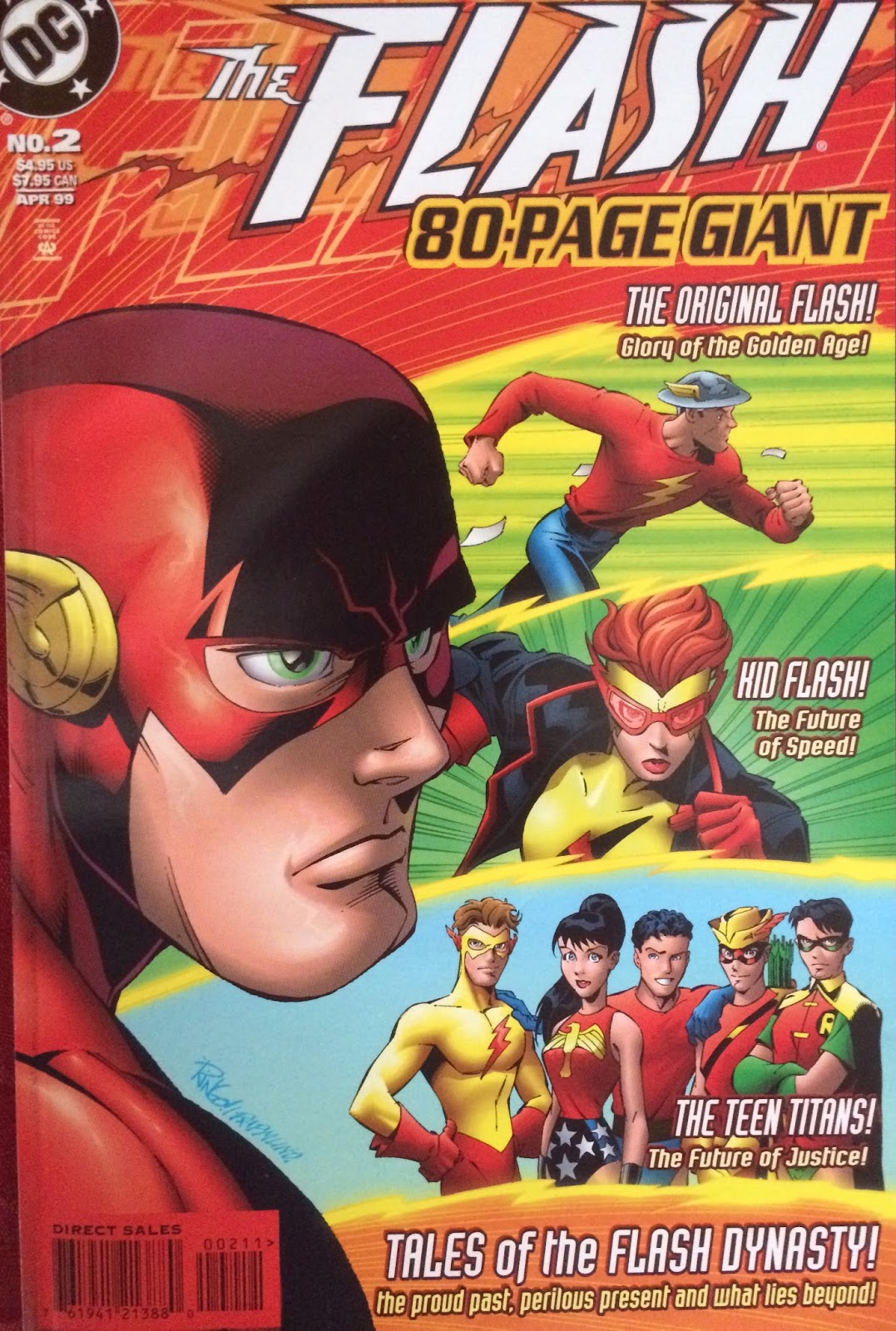 The Bart Allen (Flash) Blog: The Flash 80-Page Giant #2