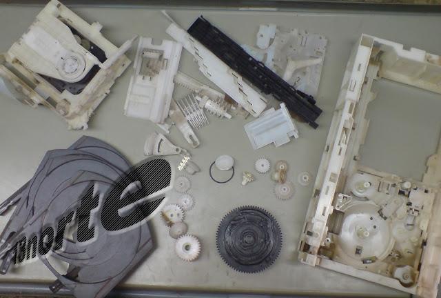 Mecanismo Panasonic CRS1 desarmado