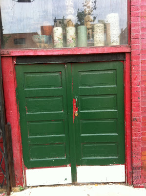 Chicago Chinatown door