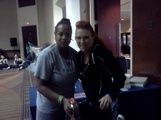 Janice with Jani Roberts ZUMBA Basic Level 1 Instructor Training October 13 2011