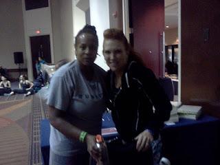 Janice with Jani Roberts ZUMBA Basic Level 1 Instructor Training October 13 2011