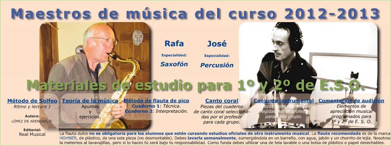 Primer ciclo de E. S. O. / Música