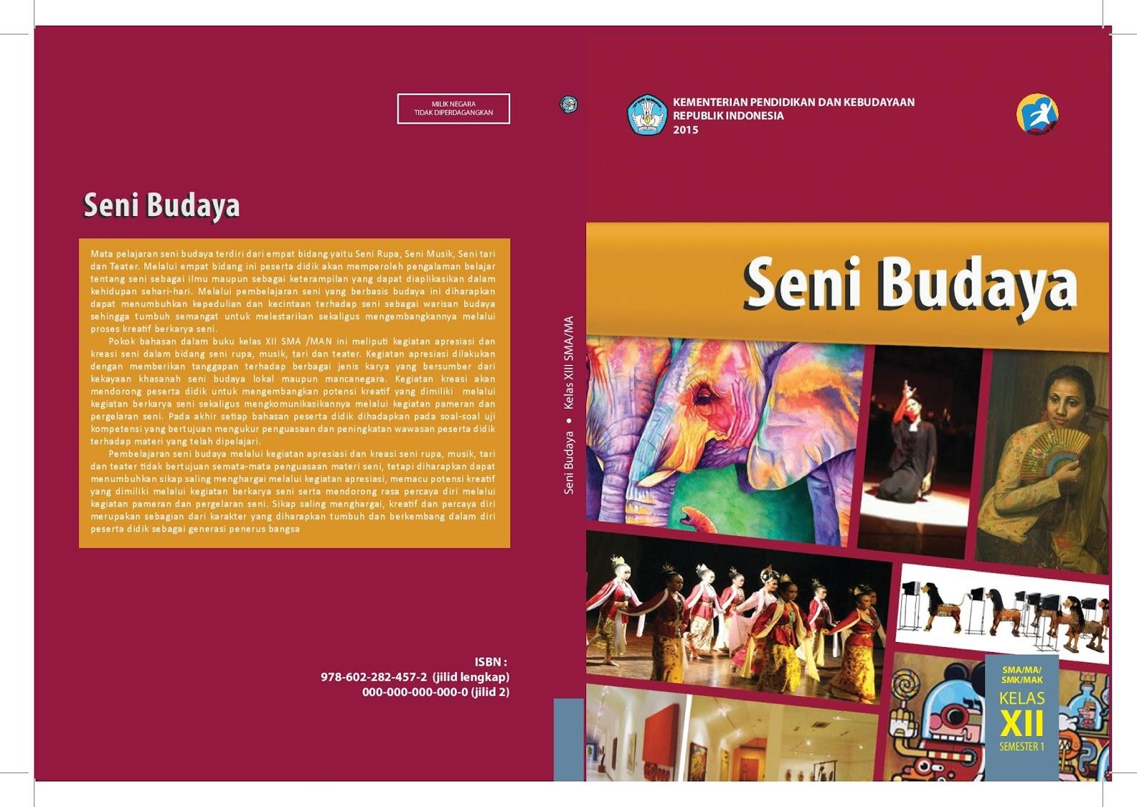 Download Buku Seni Budaya Kelas Xii Kurikulum 2013 Buku Pegangan Guru Dan Buku Pegangan Siswa