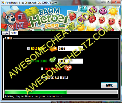 Trucos o hacks para Farm Heroes Saga