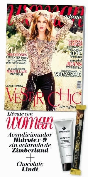 Regalos revistas febrero 2014: Woman