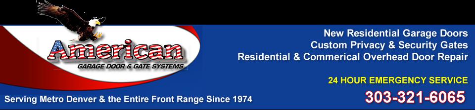 Garage Door Sales Service Repair and Installation Denver | American Garage Doors