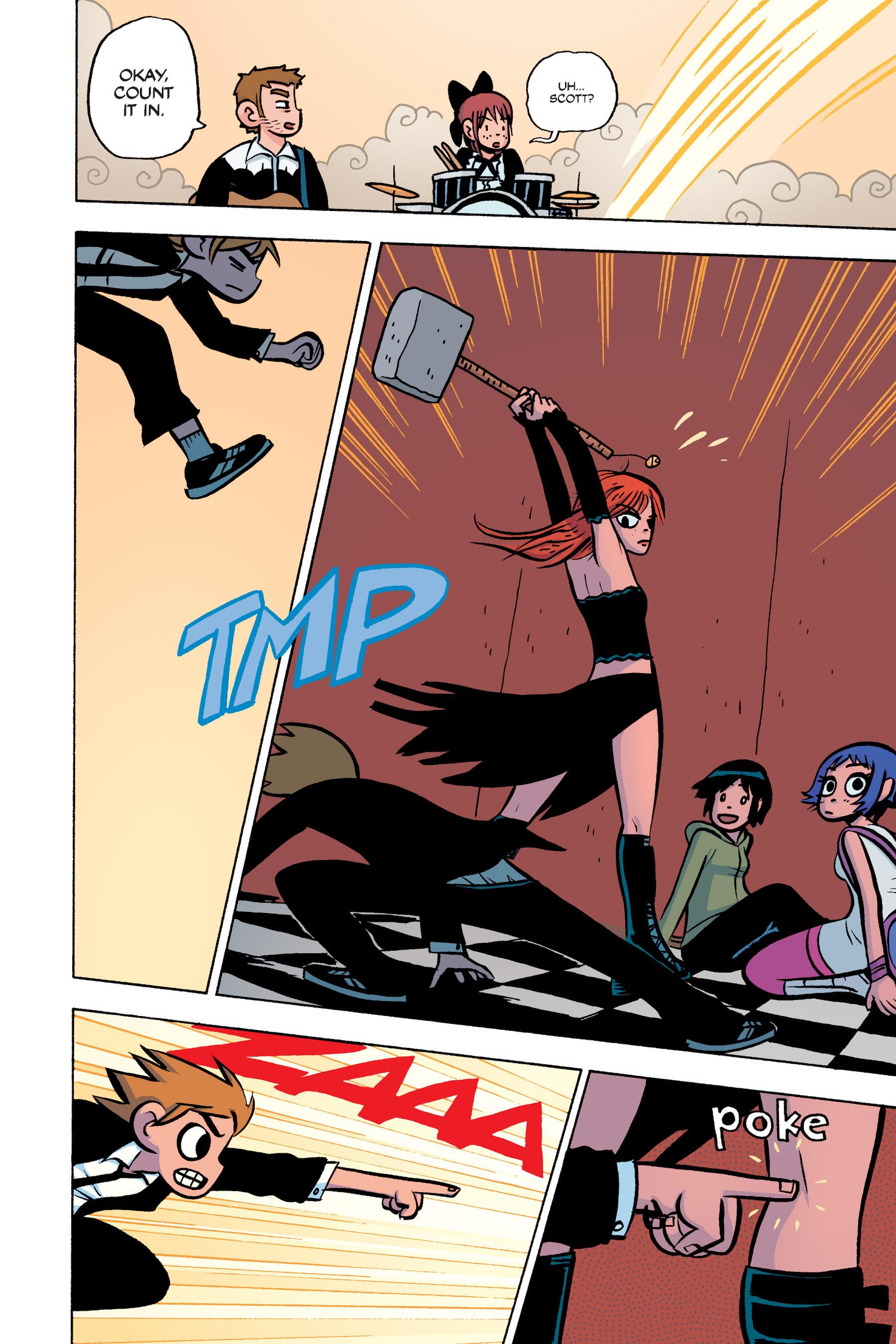 Read online Scott Pilgrim comic -  Issue #3 - 137