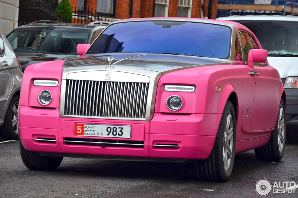 ARchicTECT: Barbie Pink Rolls Royce Phantom