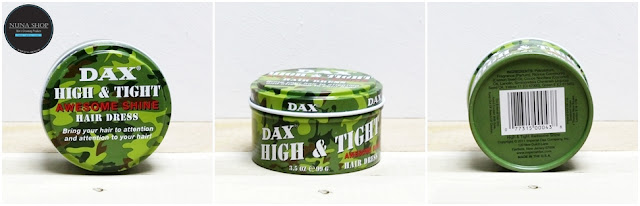 Pomade Dax High & Tight Awesome Shine
