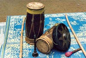 Ensemble Muzik Gendang Silat Yang Dimainkan Oleh KGGK