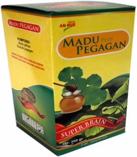 Madu Pegagan Herbal