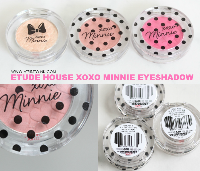 Etude House xoxo Minnie eyeshadow review