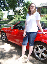 Girl Driving Barefoot