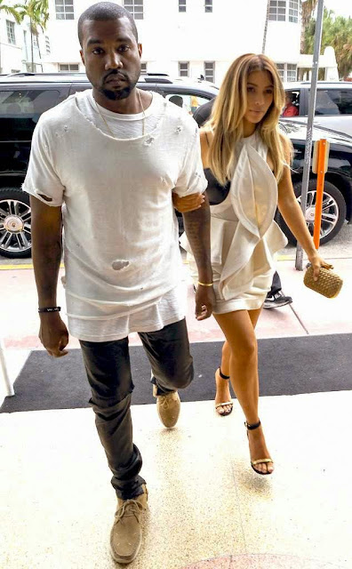 Foto Penyanyi Amerika Kanye West