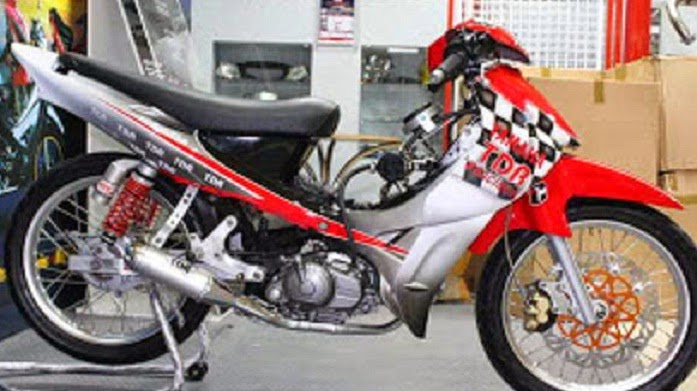 30+ Modifikasi Motor Bebek