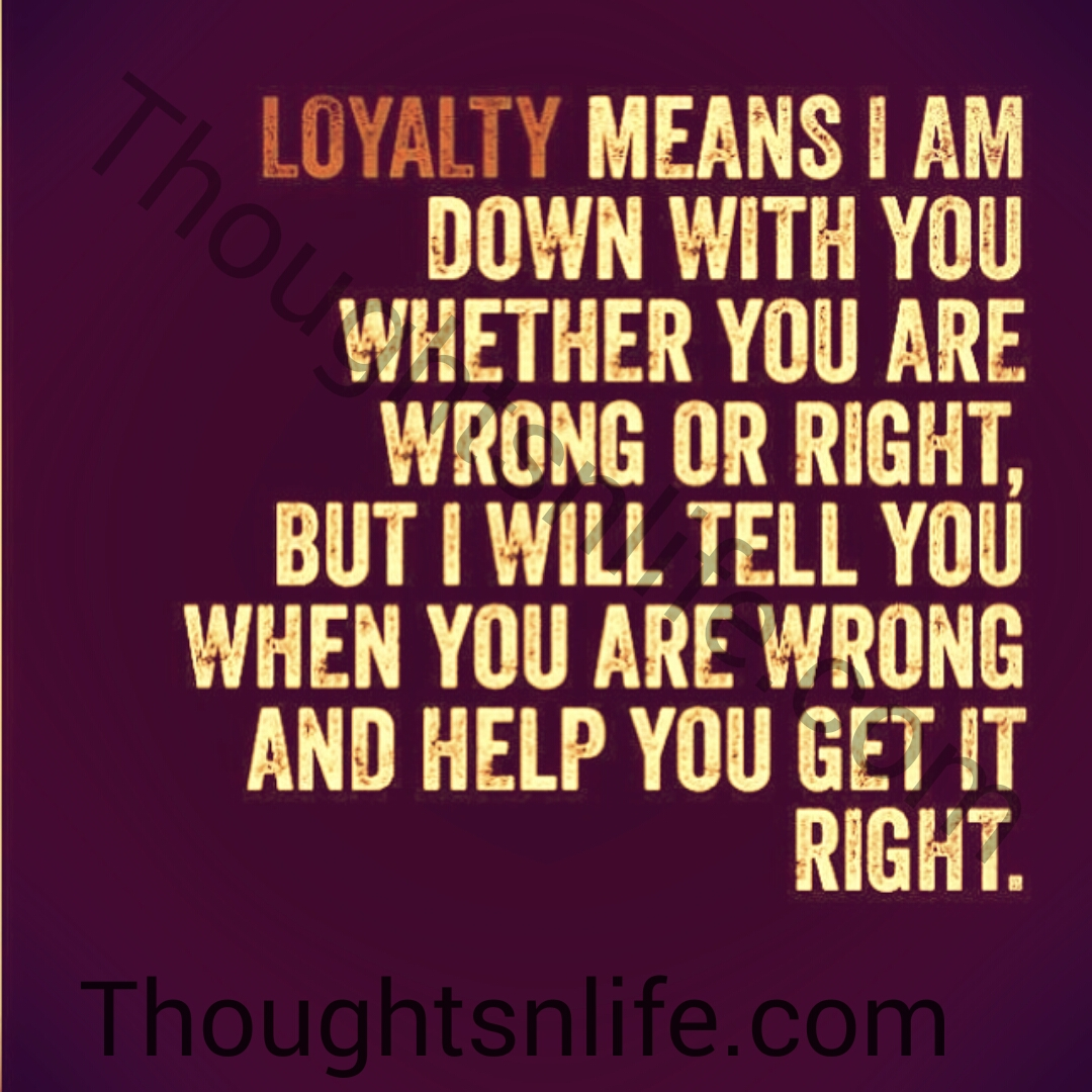 What Does Being Loyal In A Relationship Mean