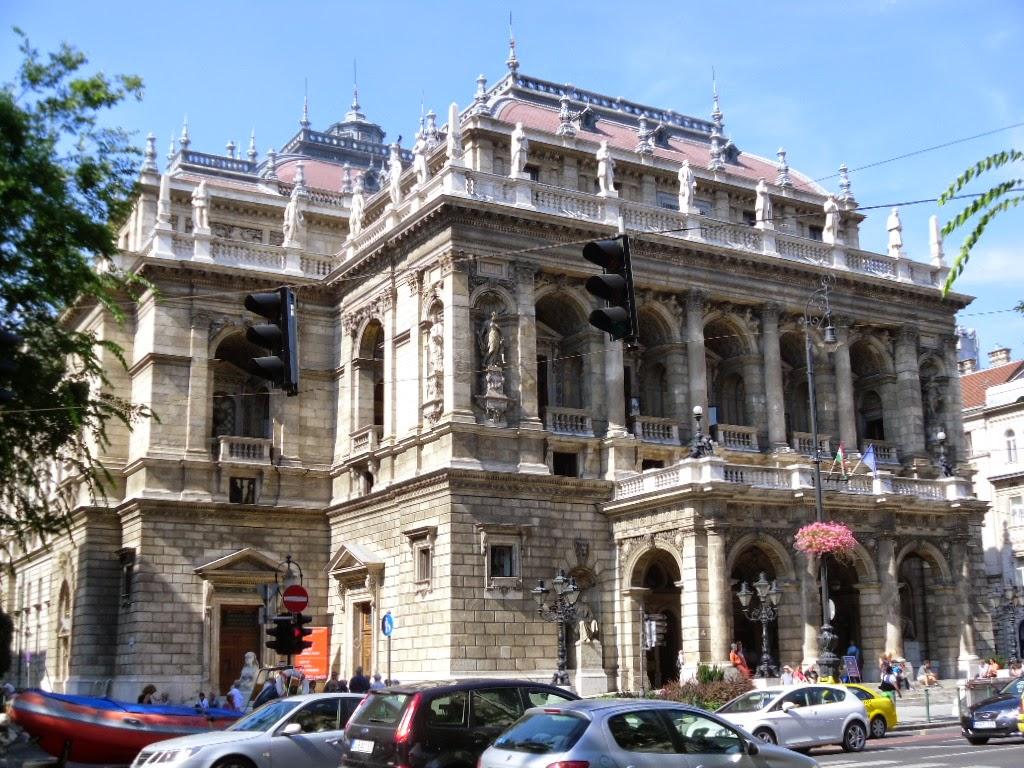Ópera Nacional da Hungria em Budapeste