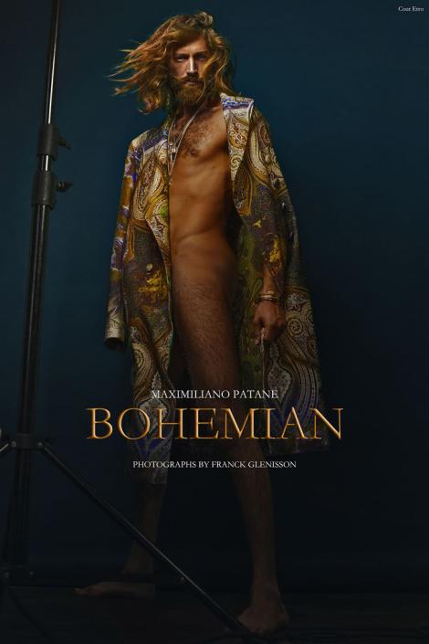Maximiliano Patane by Franck Glenisson for Male Model Scene