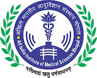 All India Institute of Medical Sciences Bhopal, AIIMS, Madhya Pradesh, MP, Medical, freejobalert, Latest Jobs, Hot Jobs, Post Graduation, aiims  bhopal logo