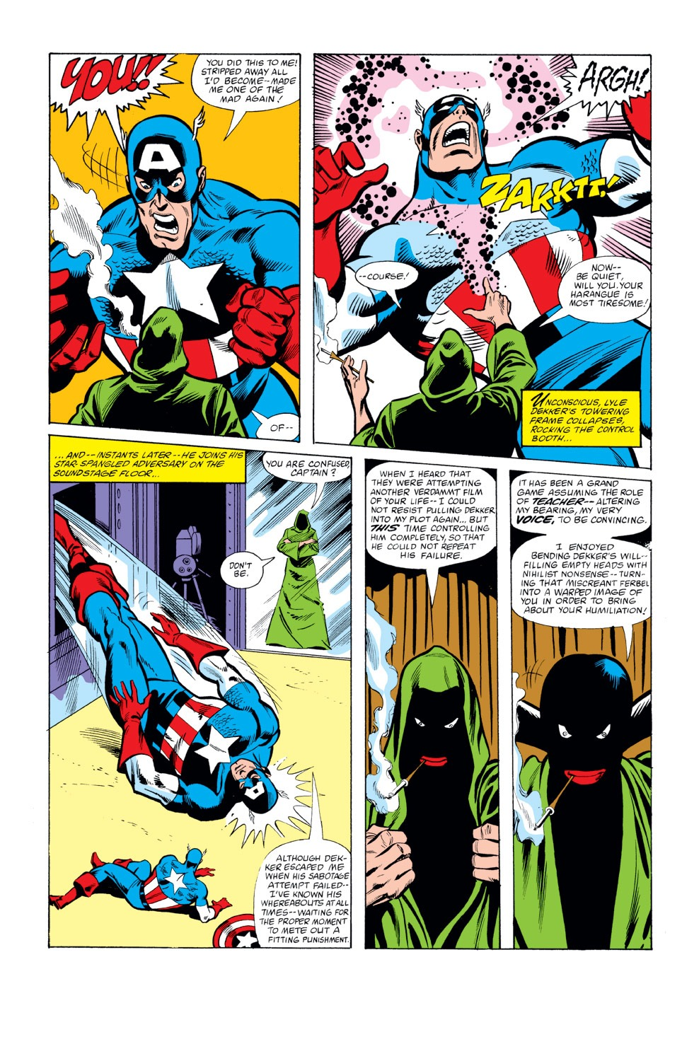 Captain America (1968) Issue #262 #177 - English 21