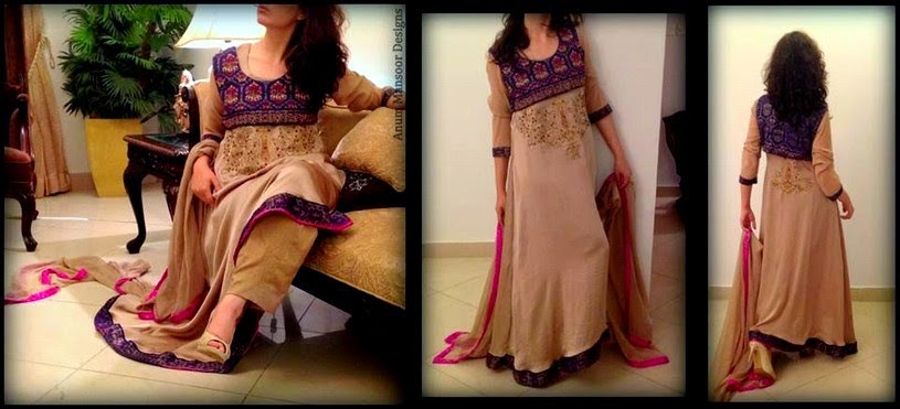 Anum Mansoor Embroidered Eid Dresses