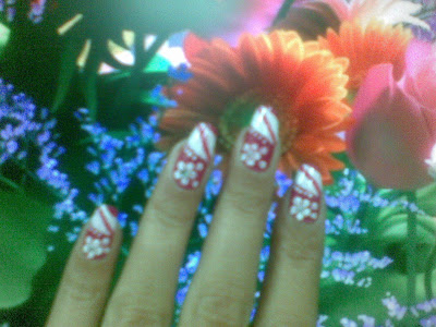 beautiful nail art design in five minutes
