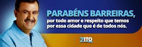 CLIQUE AQUI E VEJA A MENSAGEM DE ZITO BARBOSA PELO ANIVERSÁRIO DE BARREIRAS
