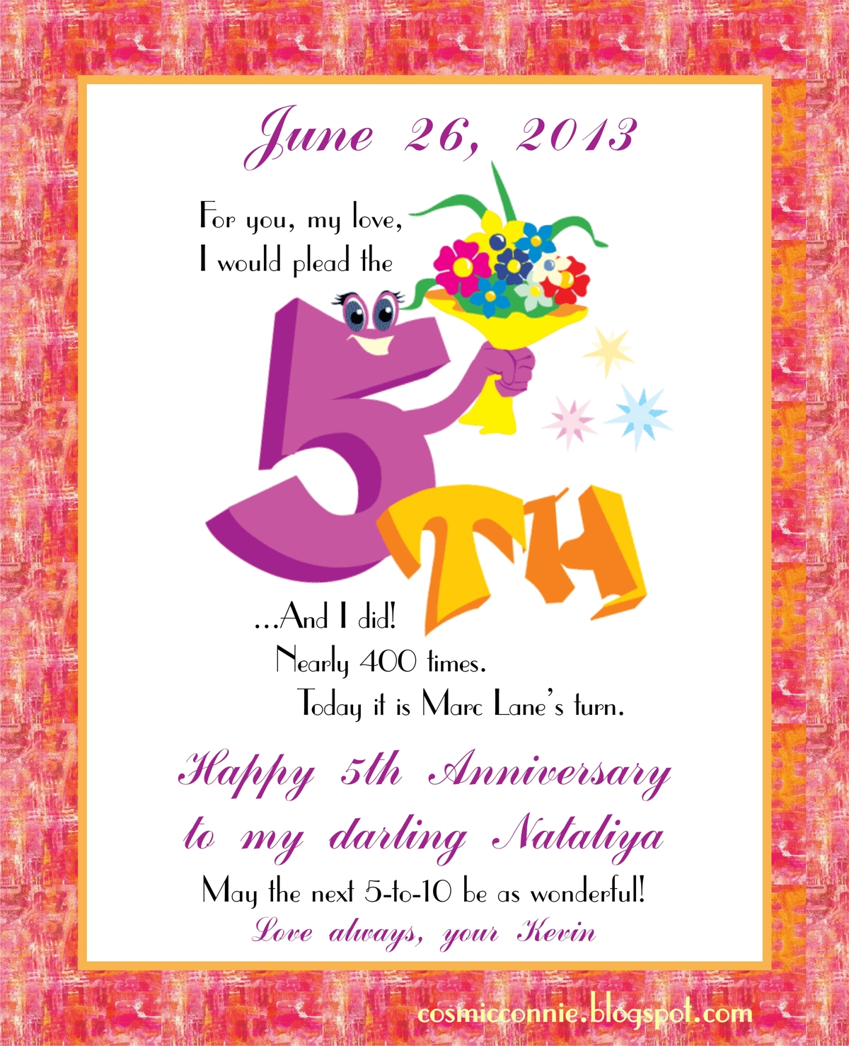 how to celebrate 5 year wedding anniversary