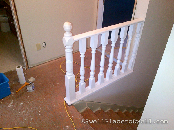 railing before