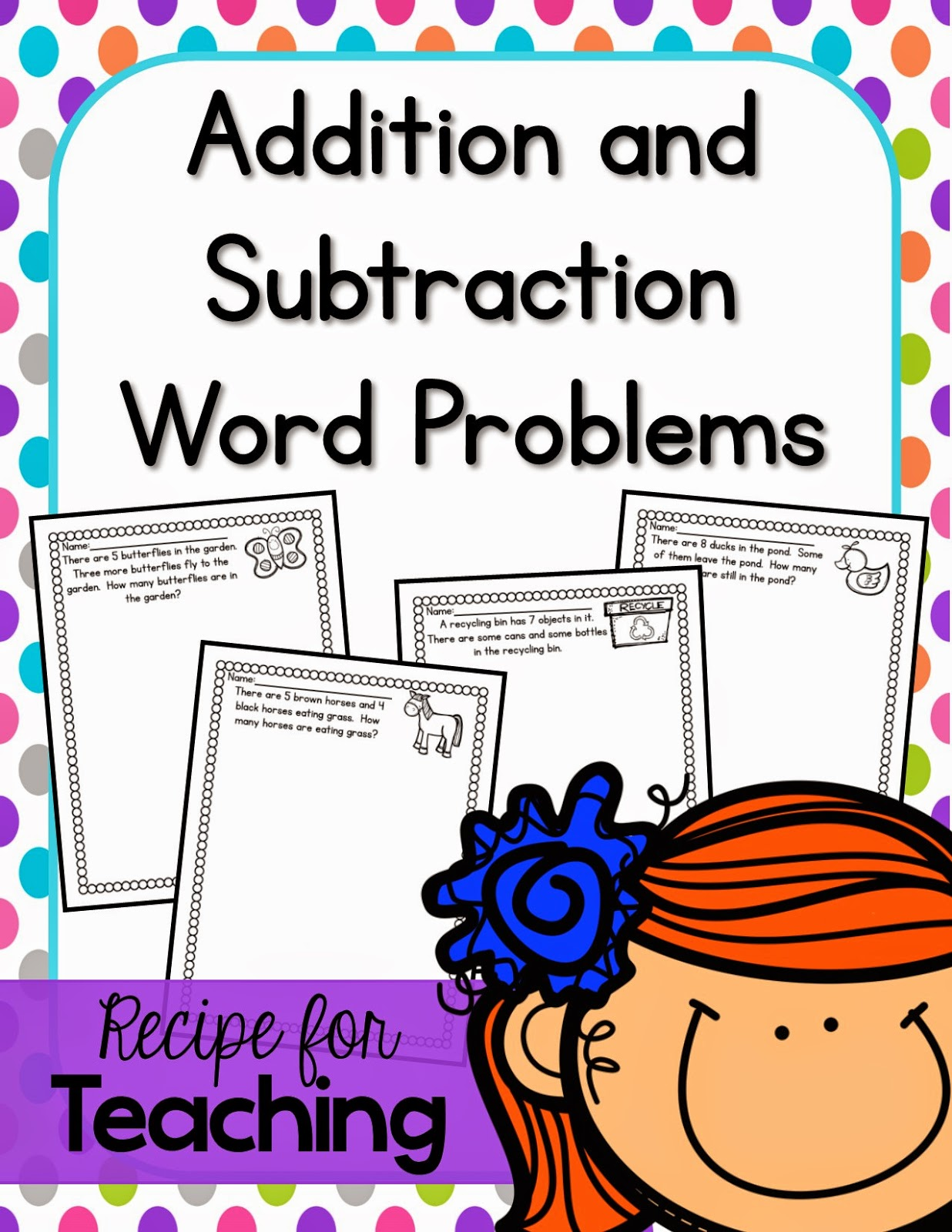 https://www.teacherspayteachers.com/Product/Word-Problems-1821429
