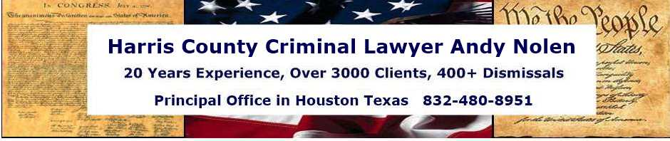 Harris County Criminal Lawyer | Houston Defense Attorney