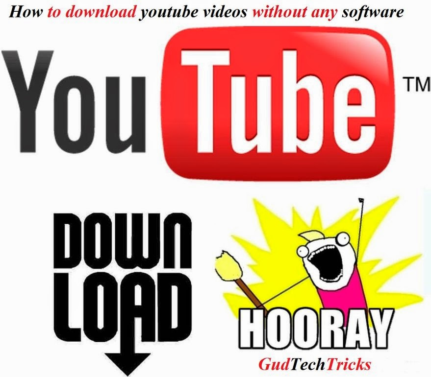 How to download youtube videos without any software gud tech tricks we can buy the video if its with low price but in other case all the users are preferring the youtube downloader software ccuart Images