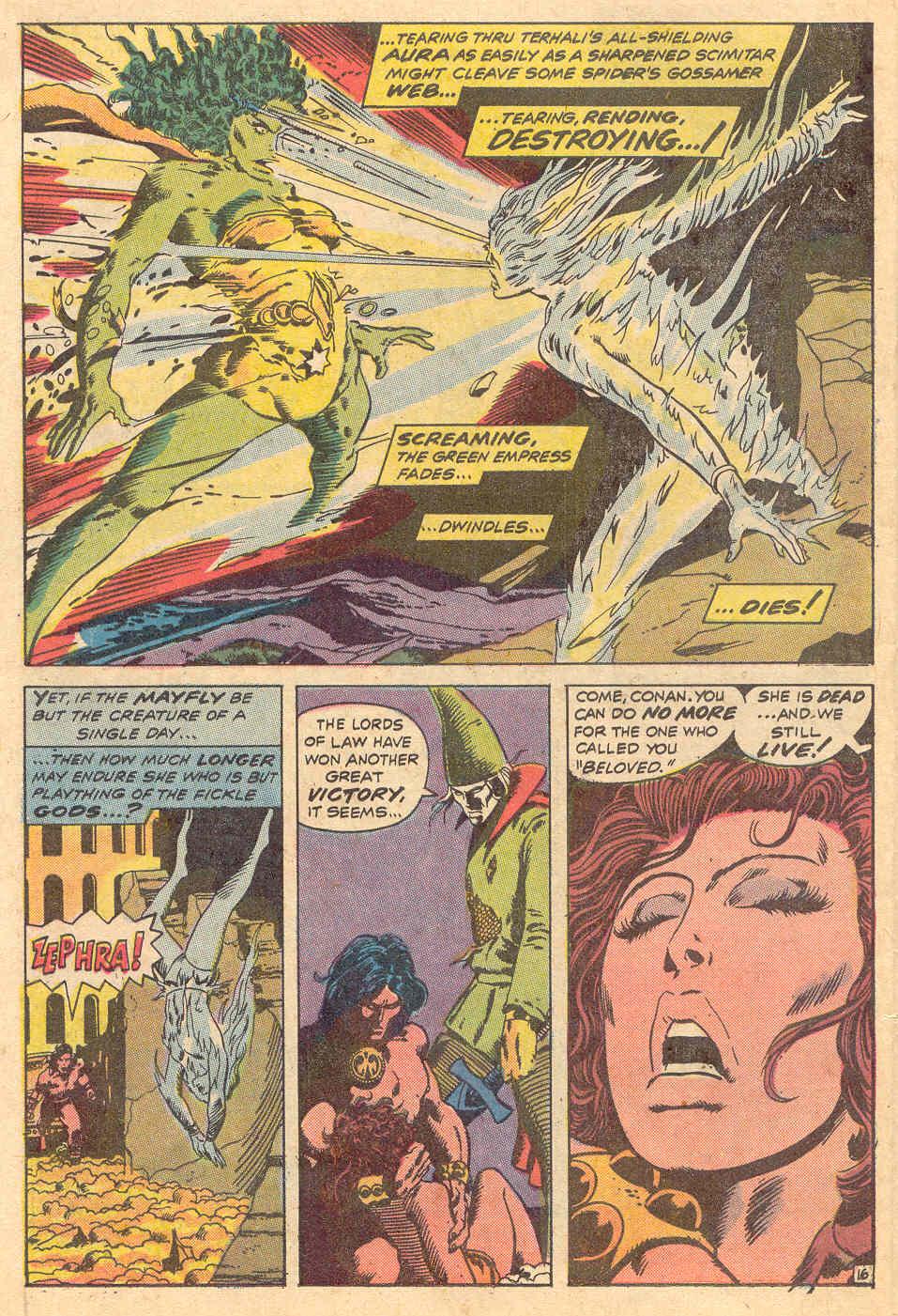 Conan the Barbarian (1970) Issue #15 #27 - English 17