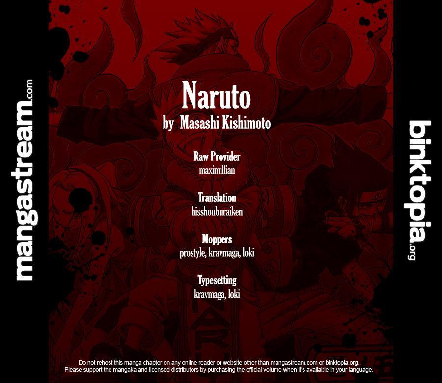 Naruto chap 500 Trang 18 - Mangak.info