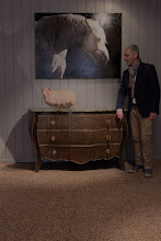 EXPOSITION PERSONNELLE DE CAPTON À LA GALERIE CLARUS À LIGNY LE RIBAULT (SOLOGNE)