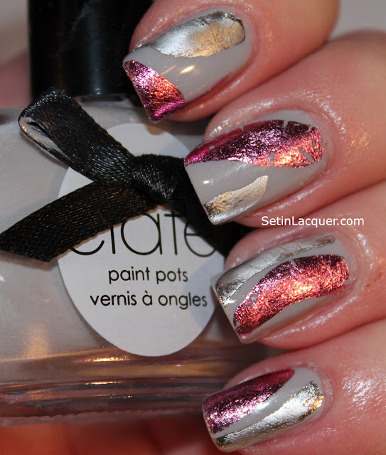 Ciaté Very Colourfoil kit has a variety of foil sheets to choose from to make your nail art stand out.