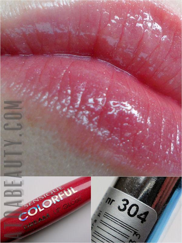 Sensique, Colorful Dream Lip Gloss, 304