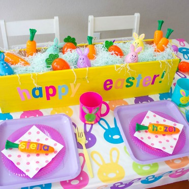 Simple kids Easter party ideas