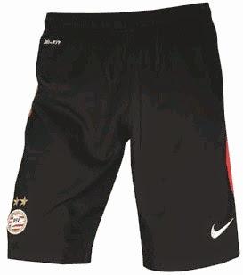 gambar kaos kaki bola PSV home terbaru musim 2014/2015 kualitas grade ori, celana PSV musim depan 2015/2016