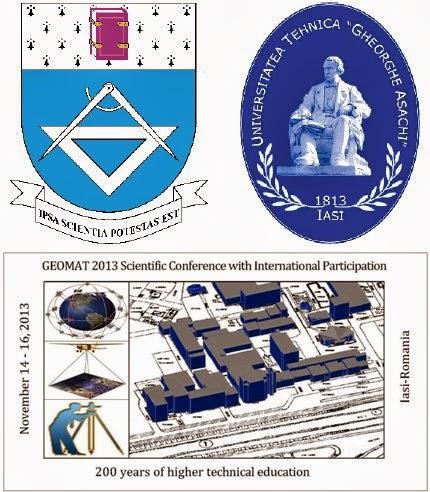 Conferinţa Ştiinţifică Internaţională GEOMAT 2013, Iaşi