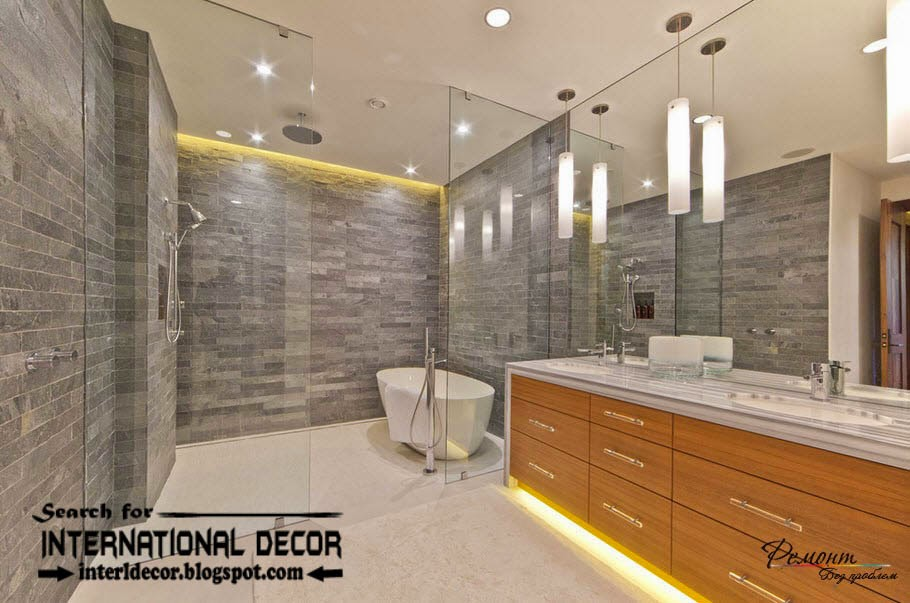 Contemporary bathroom lights and lighting ideas