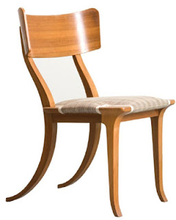 Savvy classic greece klismos chair for Danish modern reproduction