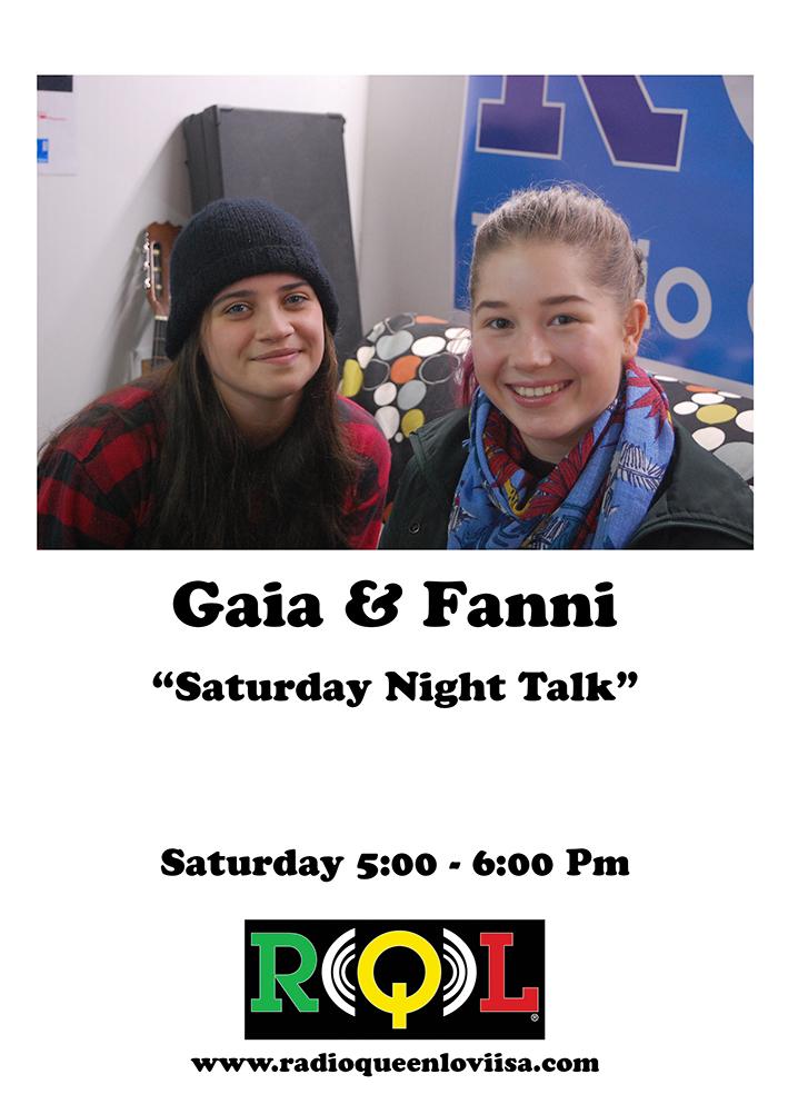 Saturday Night Talk