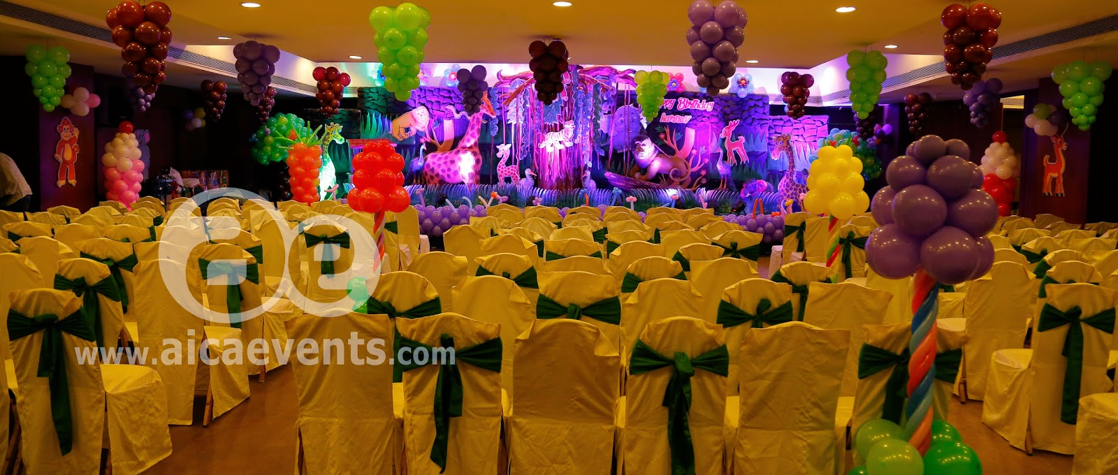 Jungle Theme Decorations Aicaevents Jungle Theme Birthday Party Decorations
