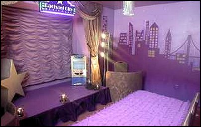 Pump Up The Glam Factor And Design A Stage In The Girls Music Themed Bedroom