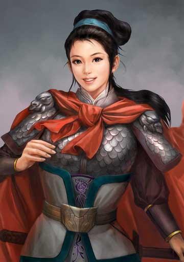 เปาซานเนียง (Bao Sanniang, 鮑三娘)