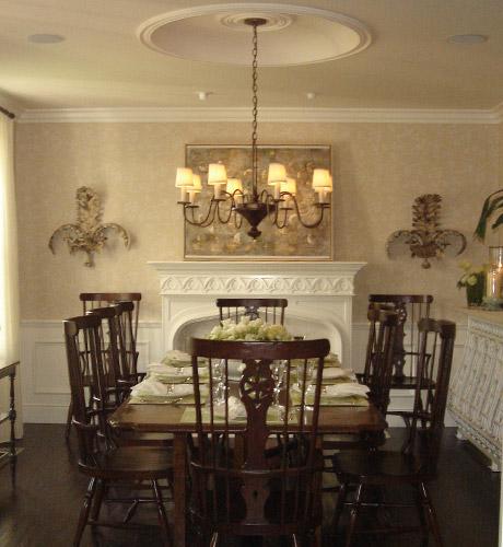 Comedores vintage fotos ideas para decorar dise ar y - Disenar salon comedor ...